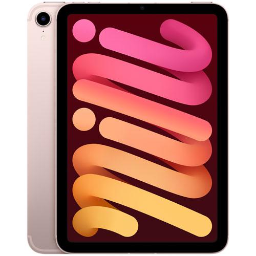 """Apple iPad mini 8.3"""" 64GB with Wi-Fi & 5G - Pink"""