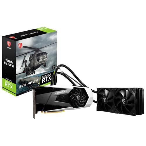 MSI GeForce RTX 3080 Sea Hawk X LHR 10GB GDDR6X Video Card