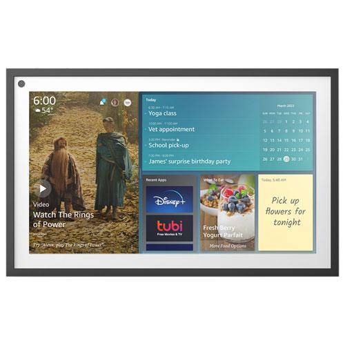 """Amazon Echo Show 15.6"""" Smart Display with Alexa - Black/White"""