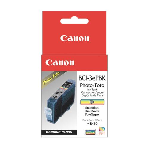 Cartouche d'encre photo noire de Canon (BCI-3PBK)