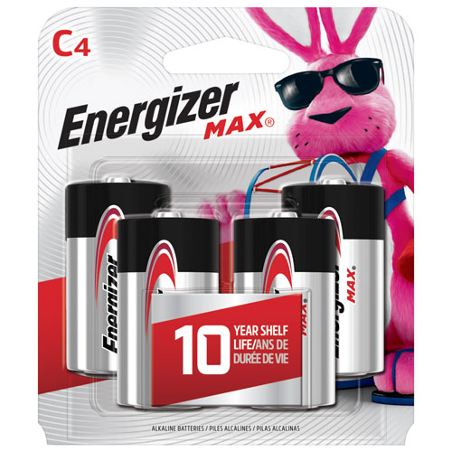 Energizer C 1 5v 4 Pack Batteries Best Buy Canada