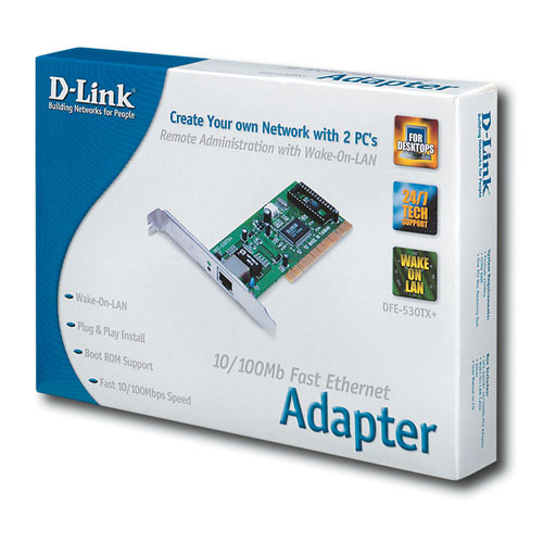 D-Link 10/100Mbps PCI Network Adapter Card