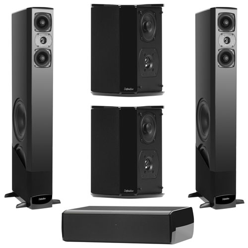 Definitive Technology 5.1 Home Theatre Speaker System - Piano Black