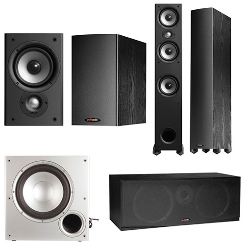 Polk Audio 5.1 Home Theatre Speaker System
