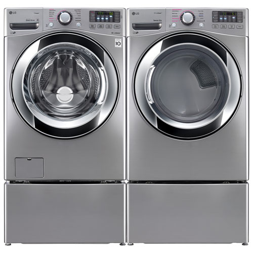 lg 52 cu ft he front load steam washer u0026 74 cu ft