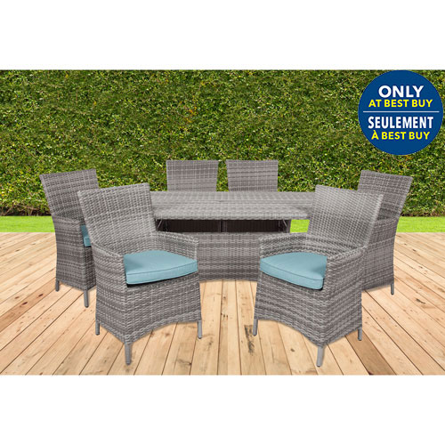 Elba 7 Piece Wicker Patio 70 Part 73