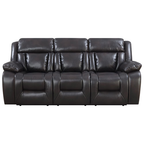 Geneva contemporary 3 piece recliner sectional sofa for Buy sectional sofa canada