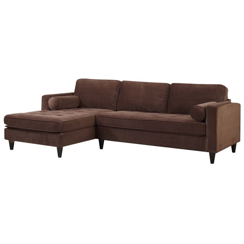 Picket House Bordeaux Sofa with Chaise Lounge Godiva