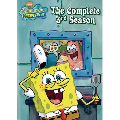 Spongebob Squarepants - L'intégrale de la troisième saison (plein écran) (2001-2002)