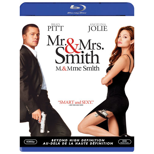 Mr. and Mrs. Smith (Blu-ray) (2005)