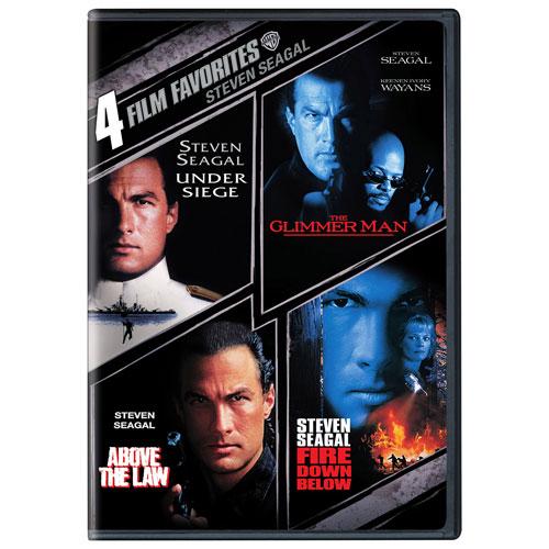 4 Film Favorites: Steven Seagal (Full Screen)