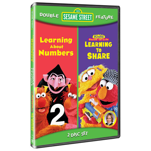 Sesame Street: Learning to Share/ Learning About Numbers (plein écran) (2007)