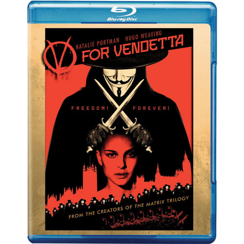 V For Vendetta (2005) (Blu-ray)