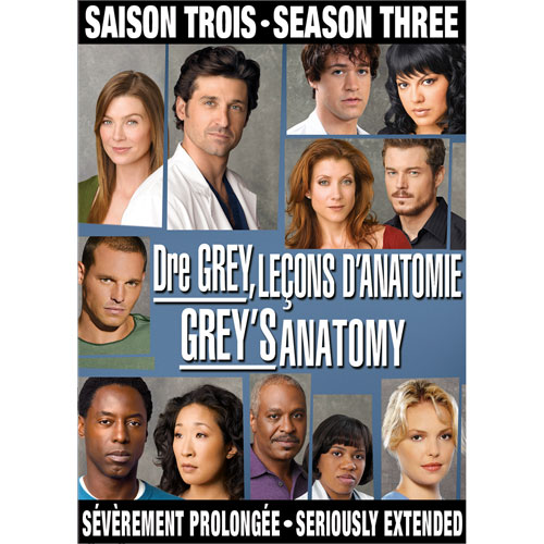 Grey's Anatomy - L'intégrale de la troisième saison (Française) (2006)