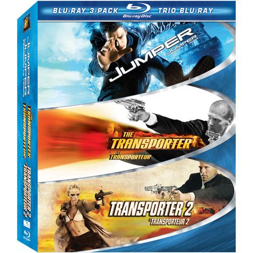 Action 3-Pack: Transporter/ Transporter 2/ Jumper (Blu-ray) (2002)