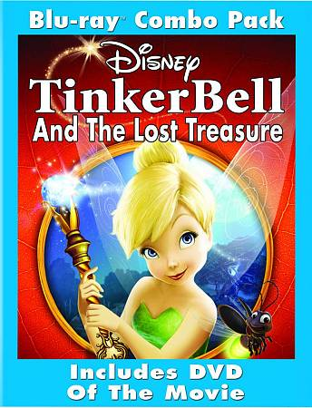 Tinker Bell And The Lost Treasure (French) (Blu-ray) (2009)