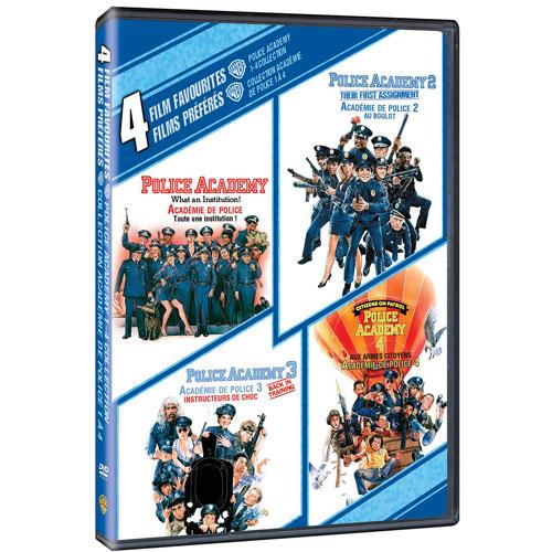 4 Film Favorites: Police Academy 1-4 (2009)