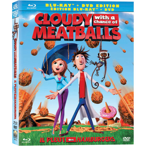 Cloudy With a Chance of Meatballs (Blu-ray) (2009)