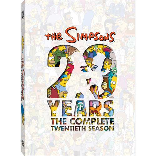 Simpsons: L'intégrale de la vingtième saison (écran large) (2008)