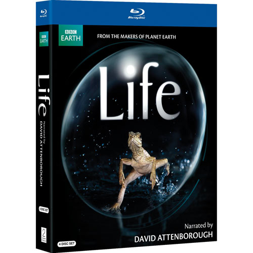 Life (Narrated By David Attenborough) (Blu-ray) (2010)