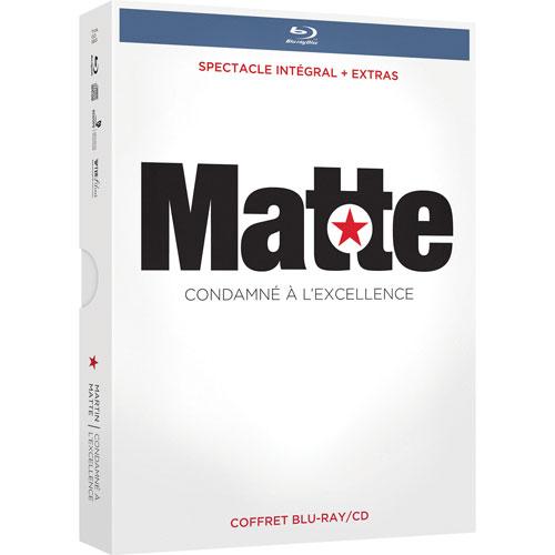 Martin Matte: Condamne a l'excellence (Blu-ray) (2007)
