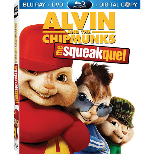 Alvin and the Chipmunks: The Squeakquel (Blu-ray) (2009)