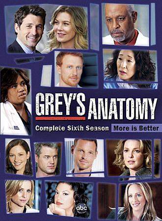 Grey's Anatomy: The Complete Sixth Season (Widescreen) (2010)