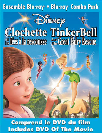 Tinker Bell and the Great Fairy Rescue (French) (Blu-ray) (2010)