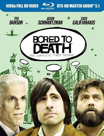Bored to Death - L'intégrale de la première saison (2010) (Blu-ray)