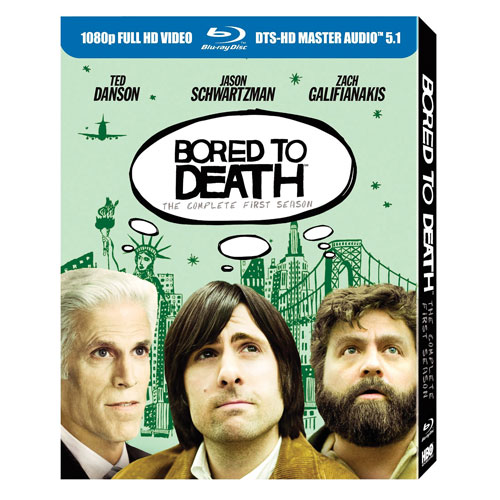 Bored to Death: The Complete First Season (French) (Blu-ray) (2010)