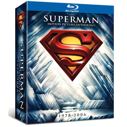 Superman Motion Picture Anthology 1978-2006 (DC Universe) (Blu-ray) (2011)