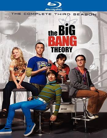 Big Bang Theory: The Complete Third Season (Blu-ray) (2010)