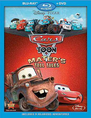Cars Toon: Mater's Tall Tales (Combo de Blu-ray) (2011)