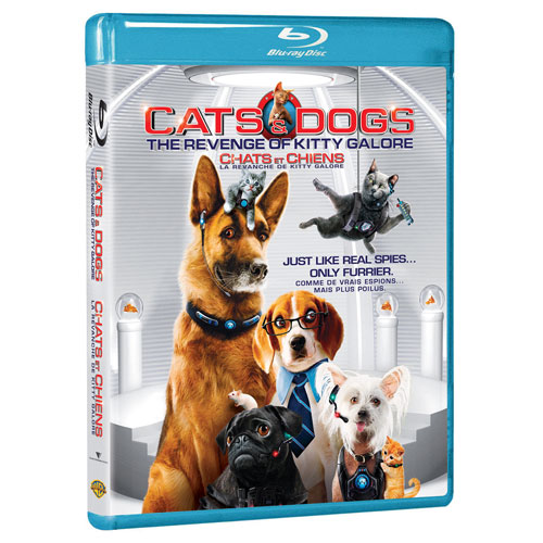 Cats & Dogs: The Revenge of Kitty Galore (Blu-ray) (2010)