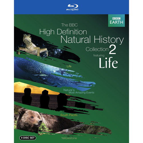 BBC Natural History Collection 2: Featuring Life (Blu-ray) (2010)