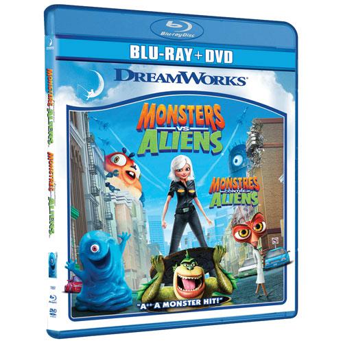 Monsters vs. Aliens (Combo de Blu-ray) (2009)