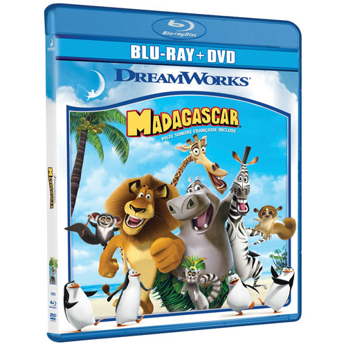 Madagascar (Blu-ray Combo) (2005)