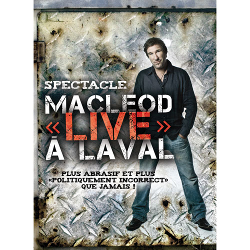 Peter MacLeod - MacLeod « live » à Laval (2010)