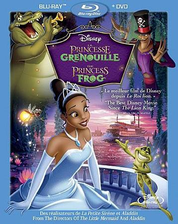 Princess and the Frog (Blu-ray) (2009)