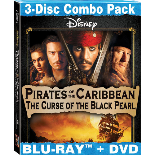 Pirates of the Caribbean: The Curse of the Black Pearl (Combo de Blu-ray) (2003)