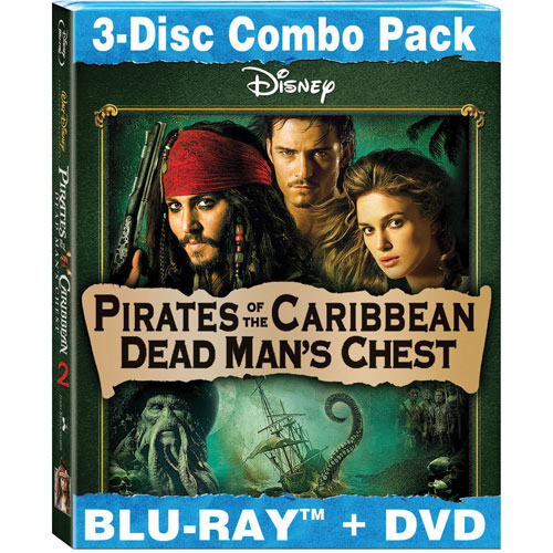 Pirates of the Caribbean: Dead Man's Chest (Blu-ray Combo) (2006)