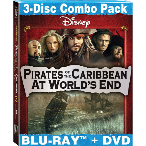 Pirates of the Caribbean: At World's End (combo Blu-ray) (2007)