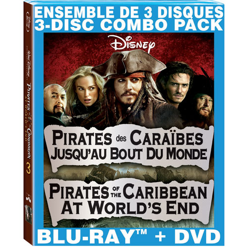 Pirates of the Caribbean: At World's End (Bilingual) (Blu-ray Combo) (2007)