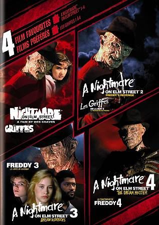 4 Film Favorites - A Nightmare on Elm Street 1-4 (2008)