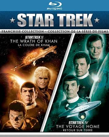 Star Trek II: The Wrath of Khan/ Star Trek IV: The Voyage Home (Blu-ray) (2011)