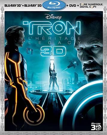 Tron: Legacy (Bilingual) (3D Blu-ray Combo) (2010)