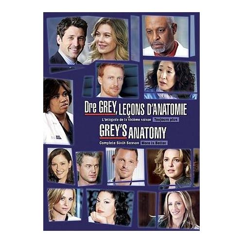 Grey's Anatomy: L'intégrale de la saison 6 (2011)
