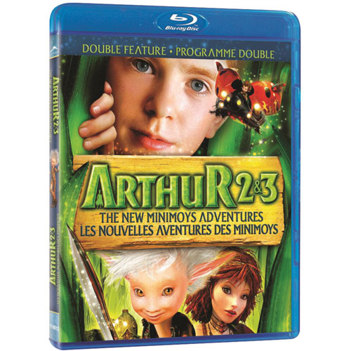 Arthur and the Invisibles 2 & 3 (Blu-ray) (2011)