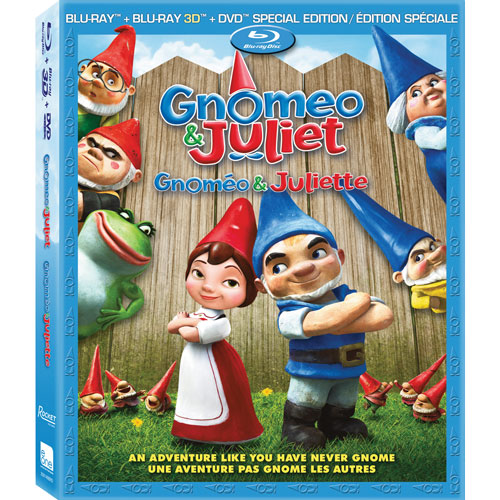 Gnomeo And Juliet (3D Blu-ray Combo) (2011)