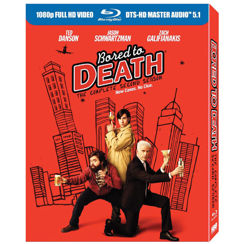 Bored to Death: The Complete Second Season (2011) (Blu-ray)